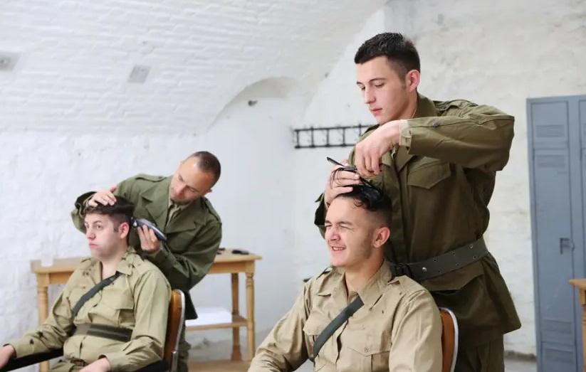 Coiffeur militaire